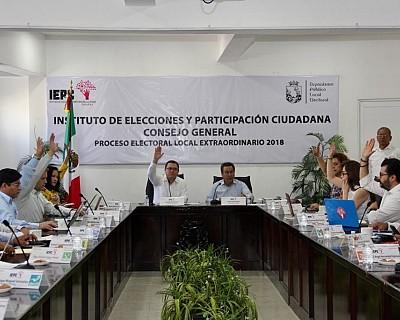 APRUEBA IEPC MEDIDAS DE SEGURIDAD DEL MATERIAL ELECTORAL