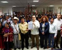 MESA DE DEBATES ENTREGA AL IEPC, LAS NORMAS QUE REGIRÁN LAS ELECCIONES MUNICIPALES EN OXCHUC