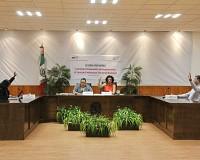 La Comisión del Servicio Profesional del IEPC analiza actividades previas al Concurso Público.