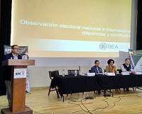 La observación electoral será pilar fundamental de la confiabilidad de los comicios en 2018: OEA