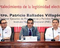 Lineamientos de paridad de IEPC están a la vanguardia nacional afirma funcionario del INE