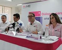 INE E IEPC CHIAPAS ANUNCIAN INICIO DE MESAS DE DIÁLOGOS PARA UNA CULTURA CÍVICA