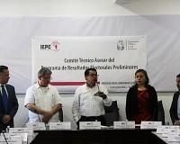 SE INSTALA EL COMITÉ TÉCNICO ASESOR DEL PROGRAMA DE RESULTADOS ELECTORALES PRELIMINARES DEL IEPC