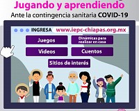 OFRECE IEPC ACTIVIDADES PARA FOMENTAR EDUCACIÓN CÍVICA DESDE CASA