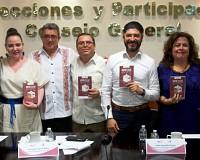 PRESENTAN EN IEPC EL LIBRO: VOTO, LUEGO EXIJO. MÉXICO DESPUÉS DE LAS ELECCIONES DE 2018